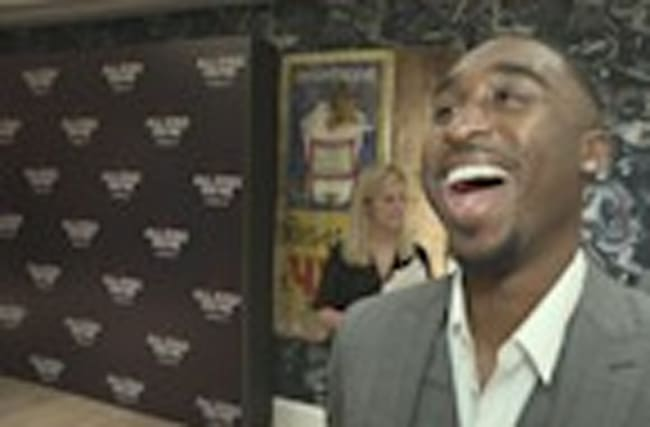 Demetrius Shipp Jr. couldn't believe his Tupac resemblance