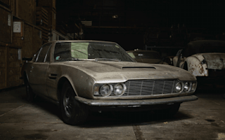 Classic Aston Martin heads to auction after 30 year storage
