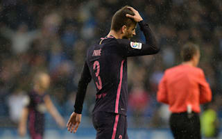 Barcelona to rest Pique after latest Real Madrid flashpoint