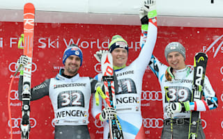 Hintermann claims unlikely Wengen win