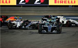 Rosberg cruises to Bahrain win after Hamilton shunt