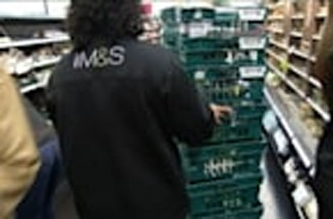 M&S profit drops, but says recovery on track