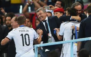 Podolski shocked to see Niersbach resign