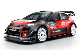 Citroën unveils World Rally car for 2017
