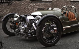 It'll take more than a storm to put off a Morgan owner