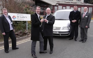 Drug-runners' van donated to hospice