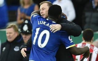 Lukaku becomes Everton's joint leading Premier League scorer