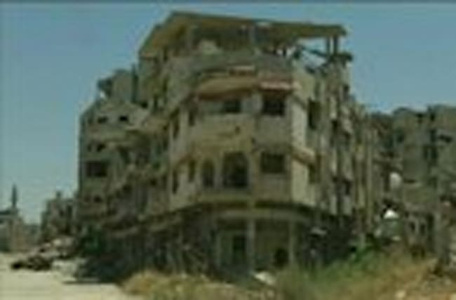 As war rages in Syria&#x3B; Restoration begins in Homs