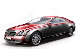 Maybach coupe unveiled