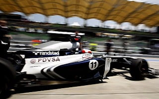 Barrichello complains about horrible start to 2011 for Williams