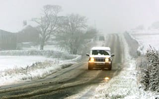 Severe weather warnings in Scotland and northern England as snow falls