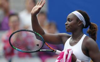 Stephens to face Vesnina in Charleston final after Kerber retires