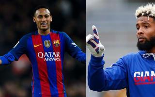 'Juniors are the best' - Beckham sends Neymar signed Giants jersey