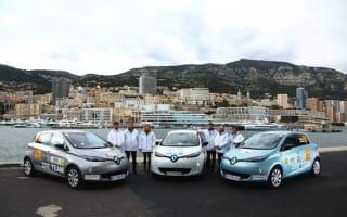 Renault Zoe dominates Monte-Carlo zero emissions rally