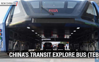 Full-scale prototype of China's Bus of the Future revealed