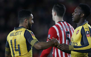 Southampton 0 Arsenal 5: Welbeck and Walcott delight banned Wenger