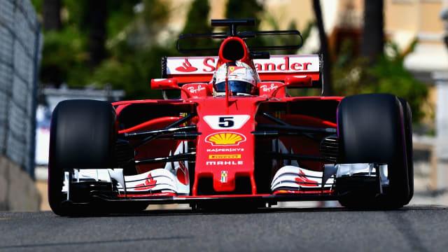 Vettel mirrors Schumi as Ferrari end Monaco jinx