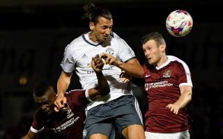 Zlatan talks like the Terminator, says Northampton's Zakuani