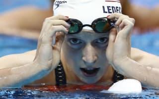 Rio 2016: Ledecky pleased with 'hardest swim of the week'