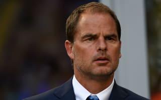 Juve not a consideration for De Boer's Europa team