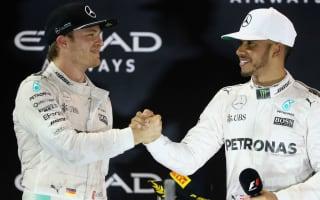 Rosberg revels in victory over Hamilton