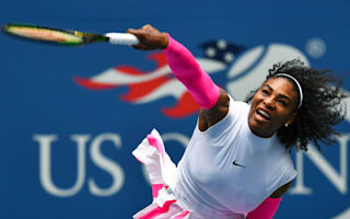 Serena makes history as Radwanska and Halep move into last 16