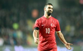 Turan, Sahin and Calhanoglu lead Turkey's Euro 2016 squad