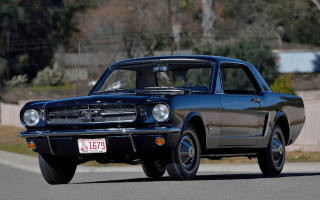 Ford Mustang number 00002 to go under the hammer