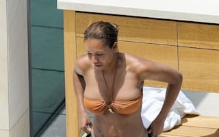 Mel B dons barely-there bikini at Sydney hotel swimming pool