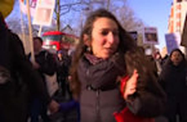 Women's protest against Trump goes global