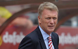 Moyes content with Sunderland squad