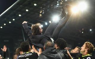 Ranieri proud to pass Premier League title to Chelsea's Conte