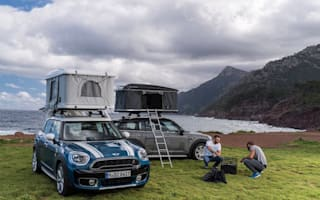 Mini release roof box tent for Countryman