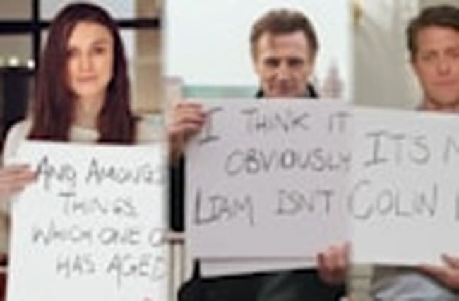 Keira Knightley Liam Neeson Hugh Grant and More 'Love Actually' Stars Reunite in New Trailer!