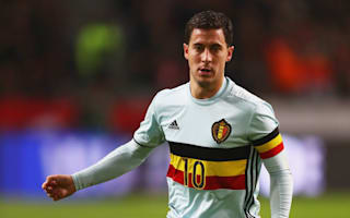 Hazard out of Belgium games with ankle injury