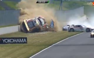 Video: Massive ADAC GT Masters crash at Oschersleben
