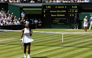 Scintillating Serena turns Vesnina dream into a nightmare