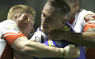 Warrington forward Currie suffers serious knee injury