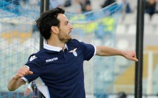 Hat-trick of headers in four-goal haul for Parolo as Lazio thump Pescara