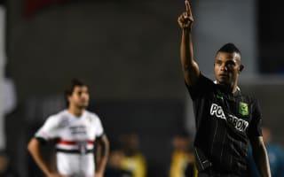 Sao Paulo 0 Atletico Nacional 2: Borja strikes late to seal semi advantage