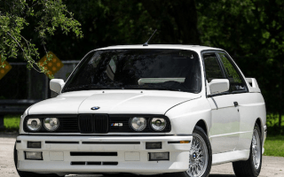 Classic BMW E30 M3 expected to hit $80k at auction