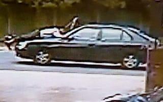 Garage owner taken on half-mile terror ride