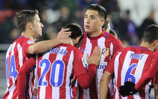 Eibar 2 Atletico Madrid 2 (2-5 agg): Simeone's men book Copa semi amid thrilling finale