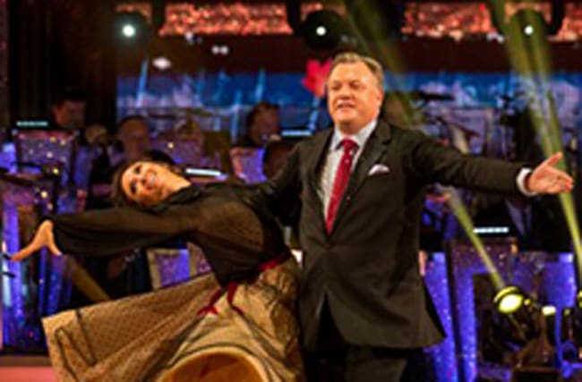 Ed Balls gets  mixed reaction from judges on Strictly