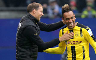 Aubameyang says sorry to Dortmund with four goals