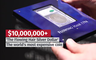 World's most expensive coin arrives in London