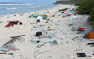 Remote British island littered with 37.7 million pieces of rubbish