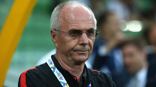 Sven-Goran Eriksson sacked by Shenzhen after just six months