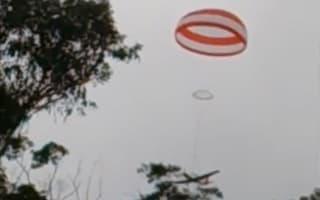 Passengers escape plane crash after pilot deploys inbuilt parachute