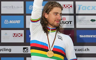 Sagan 'should have crashed' in sprint for world glory